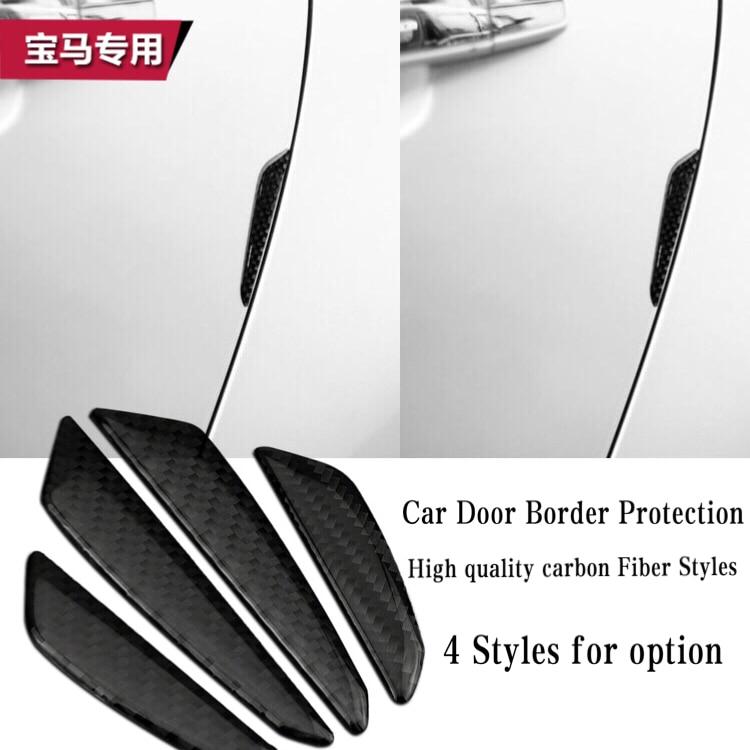 Pegatinas de protección de puertas epoxi de fibra de carbono para coches, accesorios para coches BMW M X5 X6 F10 E85 E86 E70 E71 E60 E90 E92 E93 E64 E65 F30