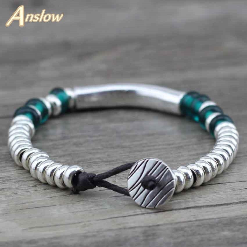 Anslow, высокое качество, Летний стиль, Новое поступление, модные ювелирные изделия, бусины, женские браслеты, браслеты, подарок, LOW0426LB