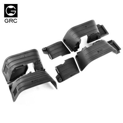 Cubierta de neumático GRC para guardabarros interno Axial 90046 (versión de molde) SCX10 Cherokee Wrangler DIY fácil