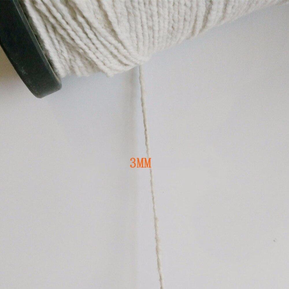 Fibra de vidro linhas de costura, fibra cerâmica, à prova de fogo, linha de costura de alta temperatura, costura à mão dia 3 térmica mm 15 m