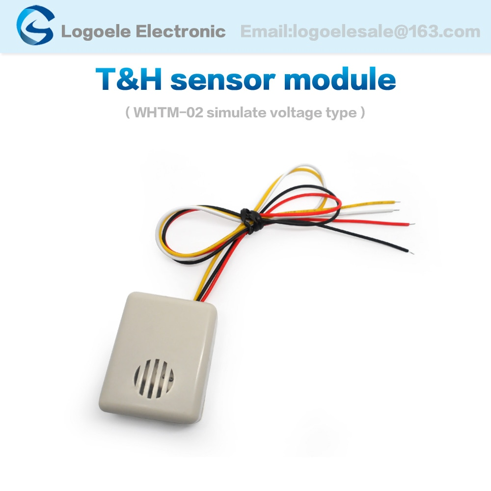 0-3V moisture temperature humidity sensor analog output Protective casing