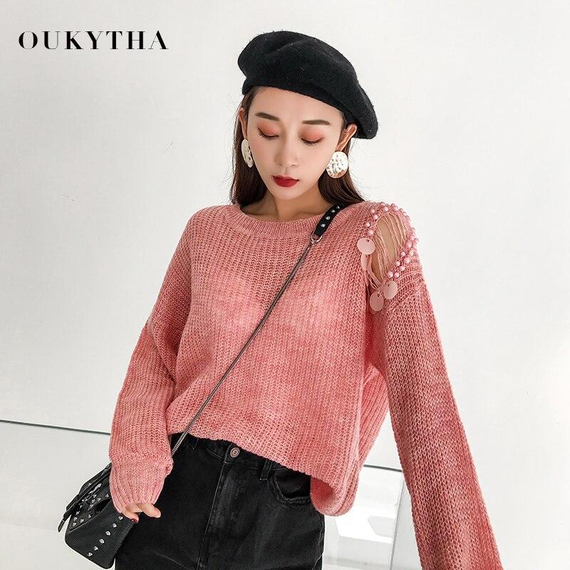 Dulce suéter de mujer Otoño Invierno 2018 Kroean moda Befree suéteres Pullover para mujeres de manga larga ropa de invierno CGM18163