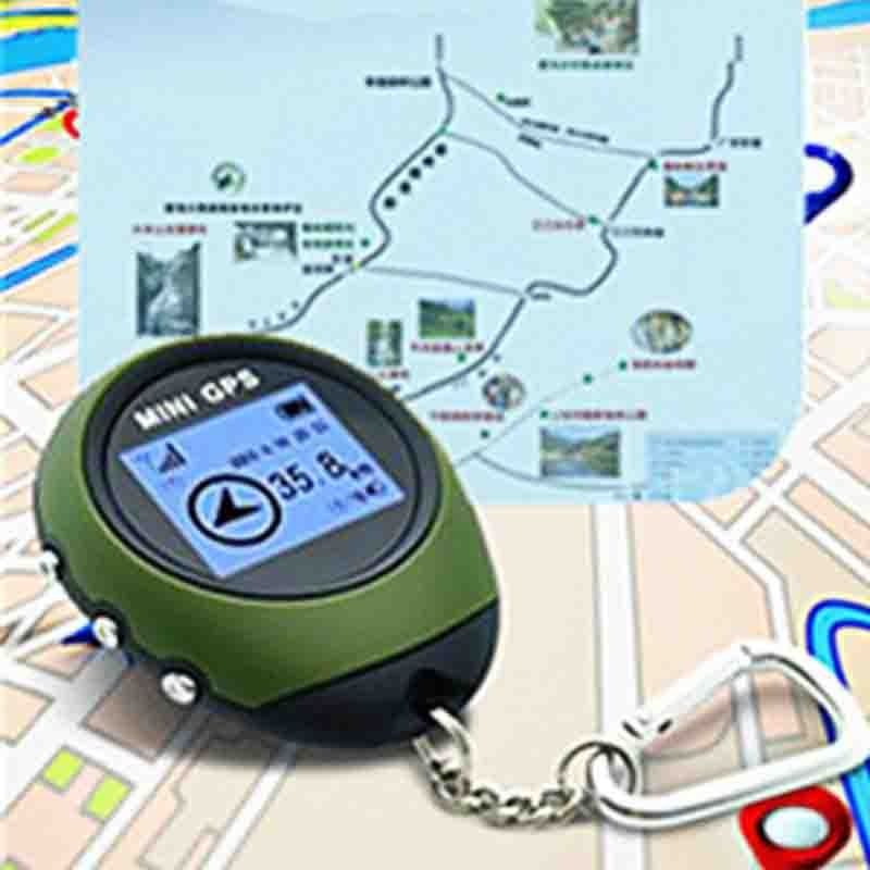 PG03 Keychain Handheld Mini GPS Tracker Purse Tracker Navigator USB Charging Outdoor Sports Climbing Long Trip Tourist