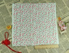 Recém Chegada Flor & Coração Vermelho Floral Sentiu Tecido Não Tecido de poliéster sentiu, Fieltro feltro 28x28 cm
