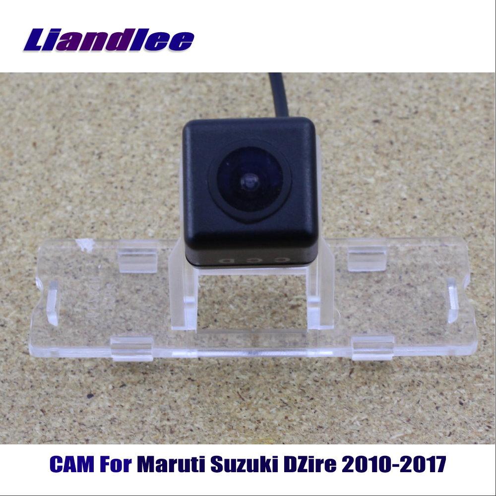 Liandlee CAM For Maruti Suzuki DZire 2010-2017 / Car Rear Back Camera Rearview Reverse Parking Camera HD CCD Night Vision