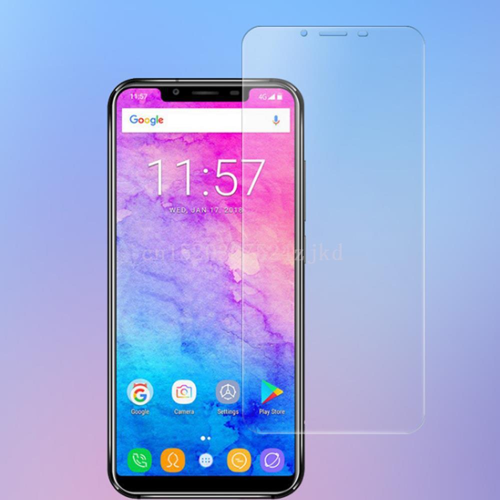 Vidrio Templado 9H para Oukitel U23 U25 C10 C11 C12 C13 C15 PRO Smartphone 2.5D vidrio Protector de pantalla de alta calidad