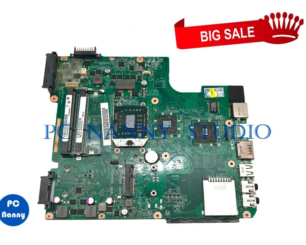 Placa base PCNANNY para Toshiba Satellite L645D L645, placa base para ordenador portátil DA0TE3MB6B0 A000073410 DDR3 probada