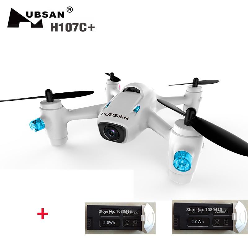 (Ter uma bateria extra) Hubsan H107C X4 Camera Plus + (H107C Plus) RTF 6-axis Gyro RC Quadcopter com Câmera de 720 P Em estoque
