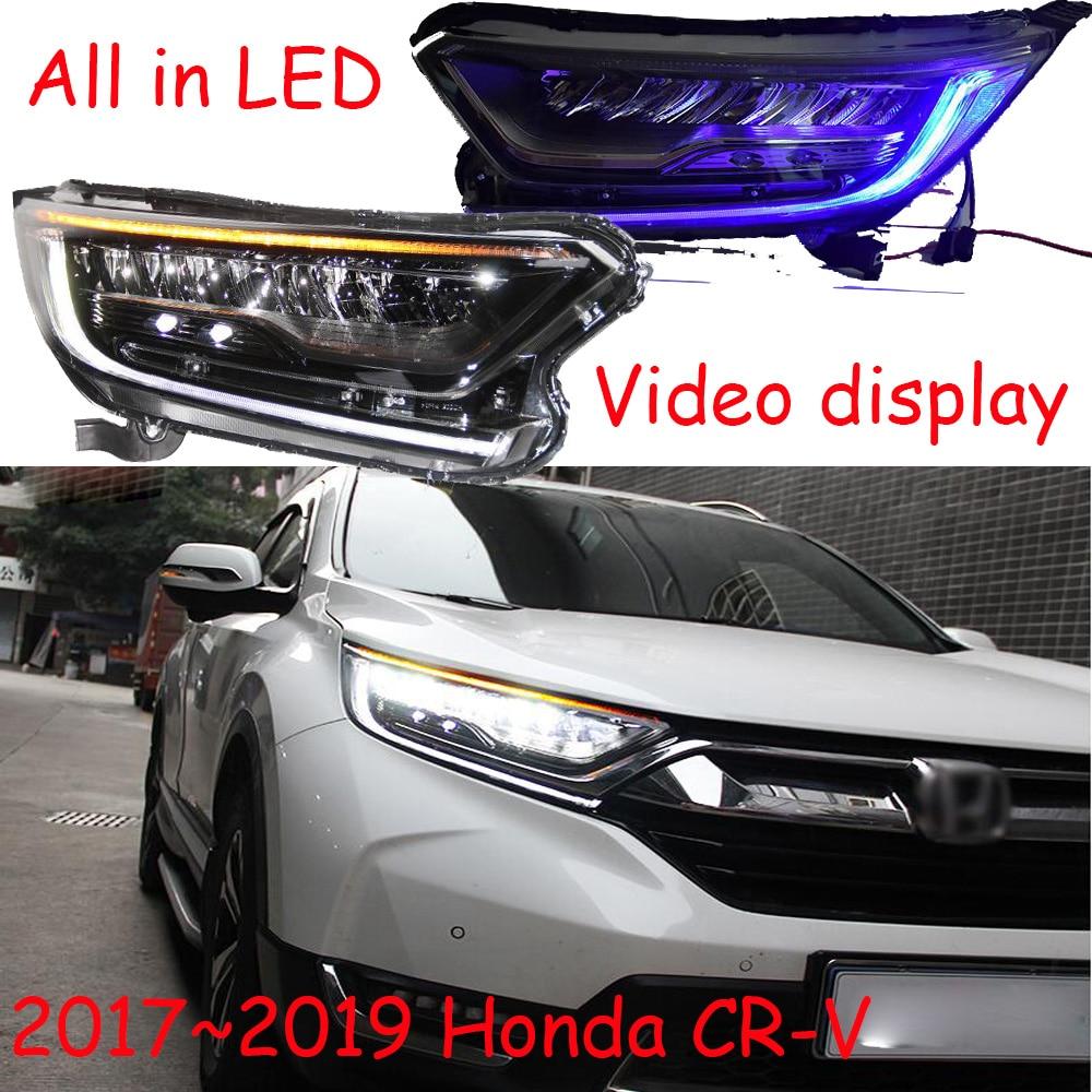 2pcs Car Styling Headlight For CR-V CRV headlights 2017~2019/2012~2015 head lamp LED DRL front light Bi-Xenon Lens xenon HID