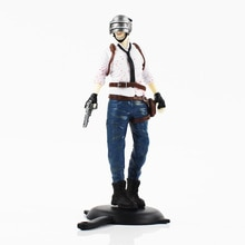 18cm Playerunknowns BattleGrounds PUBG Men/Women GAME/BATTLE ROYALE PVC Action Figure Collectible Model Toy