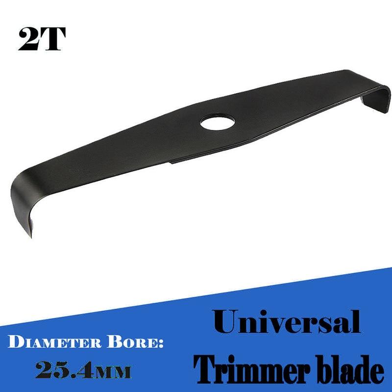 Profesional 310mm 2T dientes Universal espesar cortadora de cuchilla para Strimmer desbrozadora 25,4mm suministros de herramientas para jardín doméstico accesorio