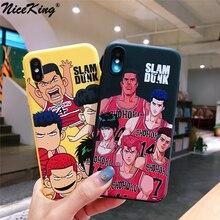 Niceking-téléphone portable Cartoon Slam  , Dunk 11Pro MAX XR XS, X 6 6S 7 8 Plus