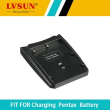 Lvsun batteria ricaricabile piastra adattatore cassa del supporto per pentax d-li50 sigma bp-21 minolta np-batterie caricabatterie fotocamera
