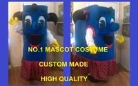 happy blue girl book mascot costume adult cartoon character book theme easter christmas halloween birthday mascotte fancy 1740