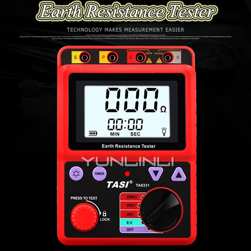 Handheld LCR Digital Bridge High Precision Measurement Resistance Inductance Capacitance Instrumentation VC4080
