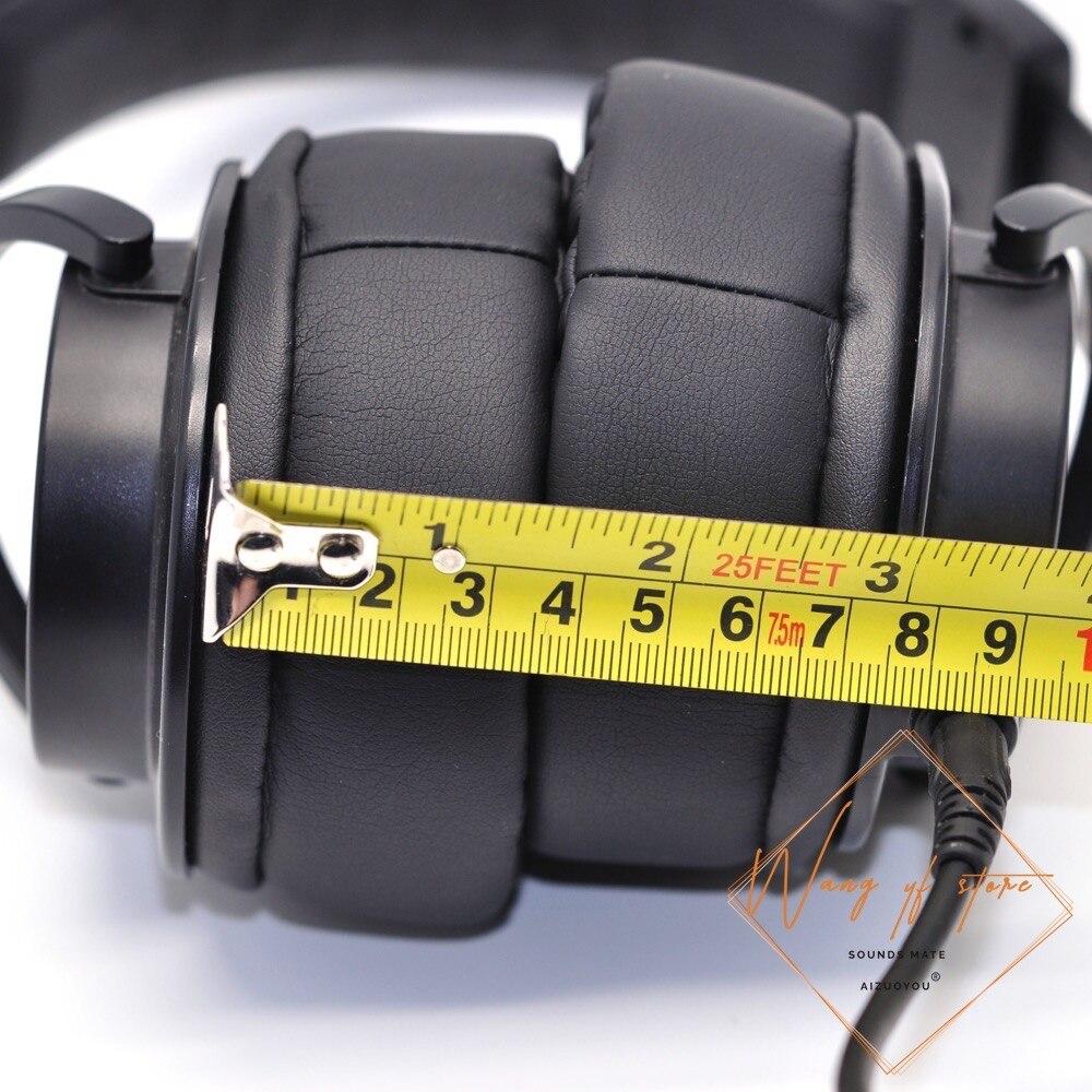 Súper grueso memoria almohadillas de espuma para el oído de la felpa diseño para Audio Technica ATH-DSR9BT SR9 MSR7 SE DSR7BT WS1100iS WS770is auriculares almohadillas