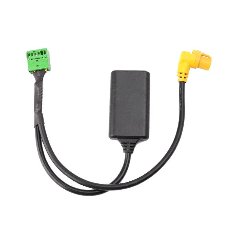 Inalámbrico Mmi 3G Ami 12-Pin Bluetooth Aux Cable adaptador de Cable de Audio inalámbrico de entrada para Audi Q5 A6 A4 Q7 A5 S5