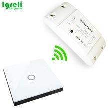 Igreli-bâton de commutation intelligent tactile sans fil   Pièces bricolage de Modification à domicile courantes avec télécommande récepteur 433mhz pour lumière domestique