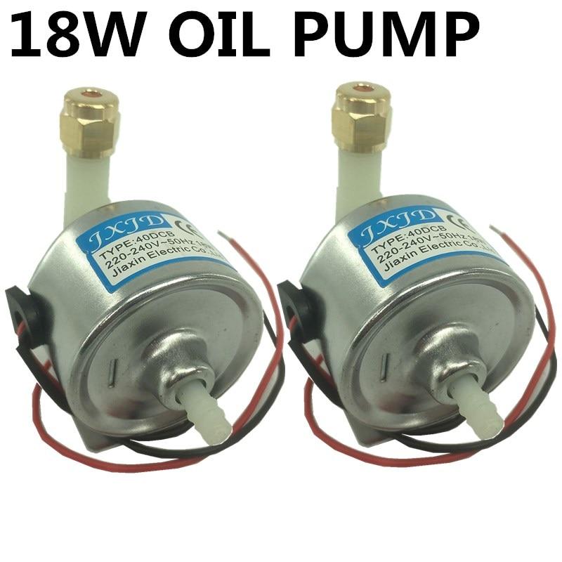 2pcs/ fog machine 40CB 18W oil pump 400w 600w 900w smoke machine oil  pump Professional stage dj equipment