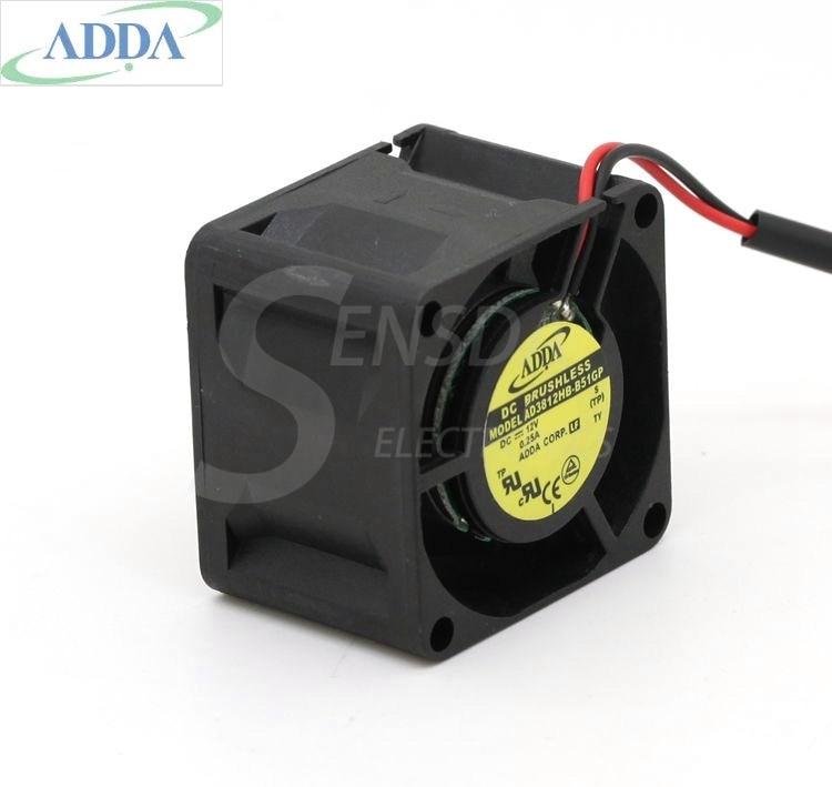 FOR ADDA AD3812HB-B51GP 3828 38mm 3.8cm DC 12V 0.25A computer case power cooling fans