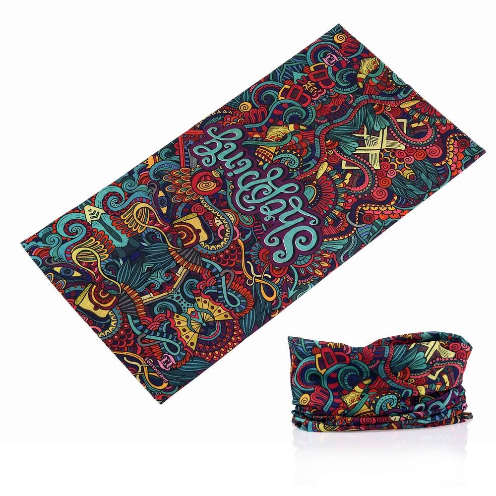 321-350 gran número de estilo Bandana sin costuras bufanda mágica pañuelo multifuncional protector solar silenciador Unise bufandas cuello tubo