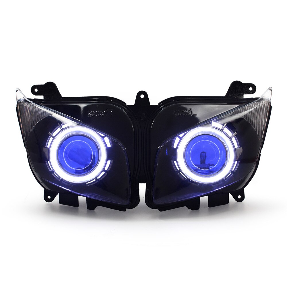 KT دراجة نارية LED المصباح الجمعية لياماها FZ1 FZ1S 2006-2016 الجبهة كشافات