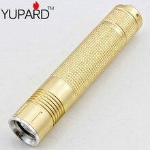 YUPARD Purple Light UV 395nm Ultraviolet Lamp identify Amber Scorpion Cosmetics 18650 rechargeable battery
