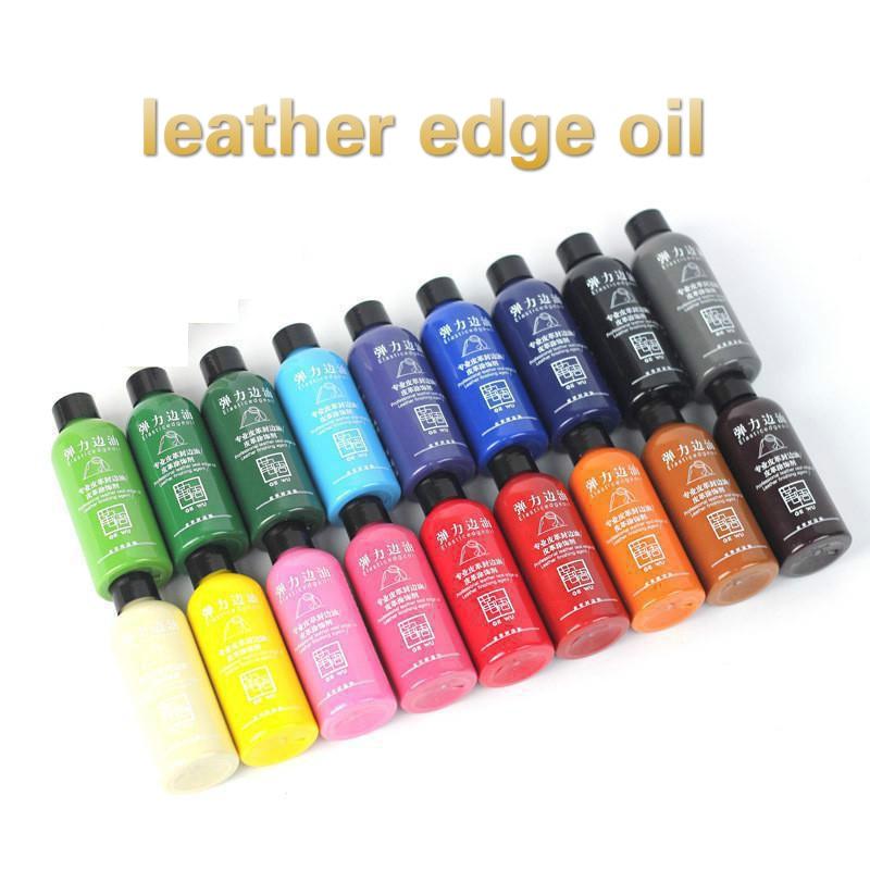 20 colors chosing 30ml colorful paint Leather edge oil edge dye Highlights edge oil