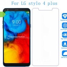 Tempered Glass For LG stylo 4 plus Screen Protector phone Film Protective Screen Cover For LG Q8 (20