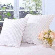 Garniture doreiller et coussin 1 pièce   Noyau de coussin, taille 45*45cm, décoration de la maison, remplissage doreiller, CAIT001, livraison gratuite