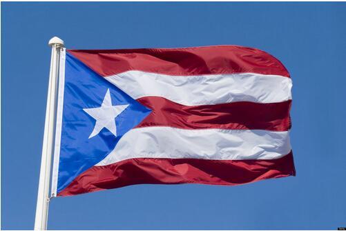 Xvggdg-Bandera de Puerto Rico, bandera colgante de 3x5 pies, bandera estándar de...