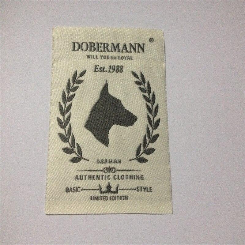 Фабричная цена на этикетки для одежды, тканые этикетки
