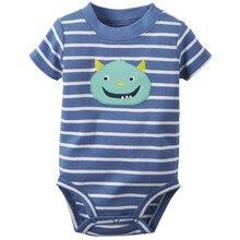 Baby Bodys! 2018 Neugeborenen Baby Jungen Mädchen Romper Kleidung Kurzarm Infant einteiliges body kind Produkt