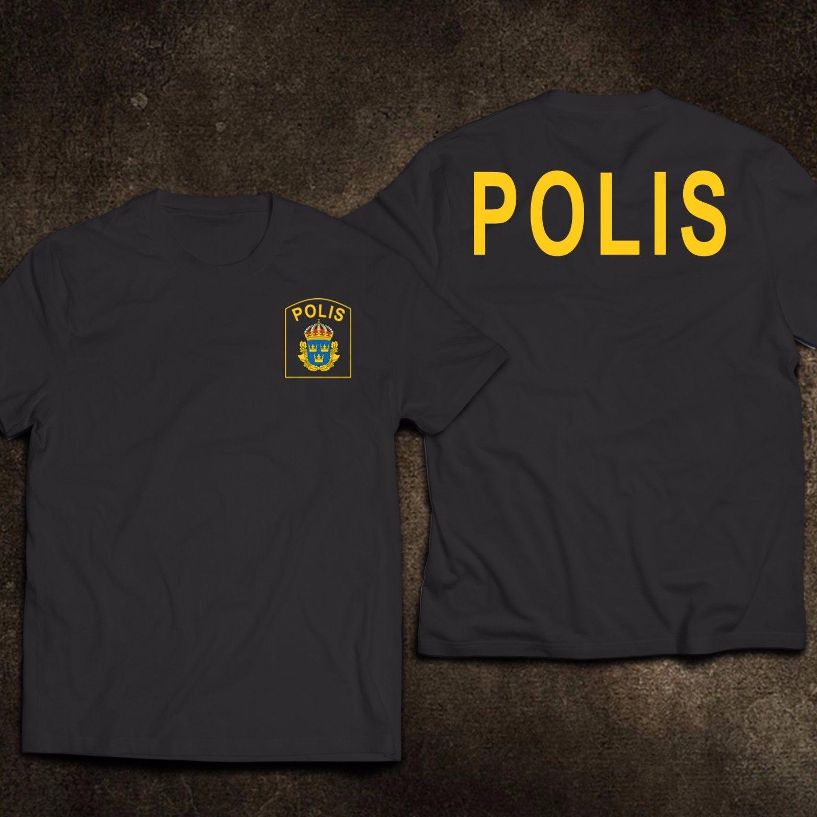Camiseta Casual divertida del servicio del departamento de Escandinavo de Suecia