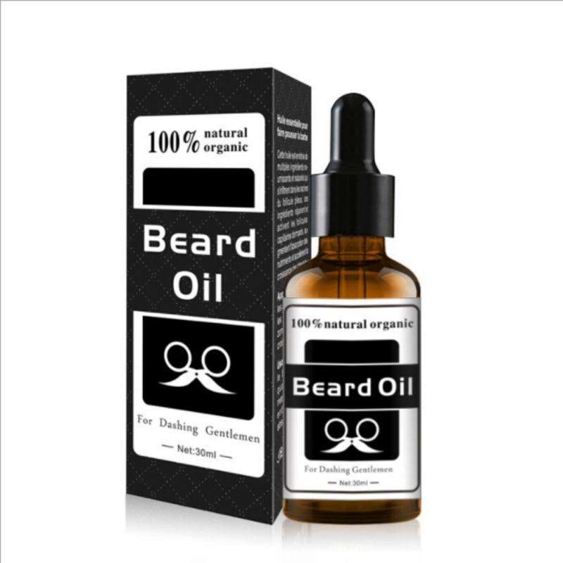 Potenciador de Nutrição Facial Barba Bigode Crescer carro 30 ml atural Homens Barba Crescimento Orgânico