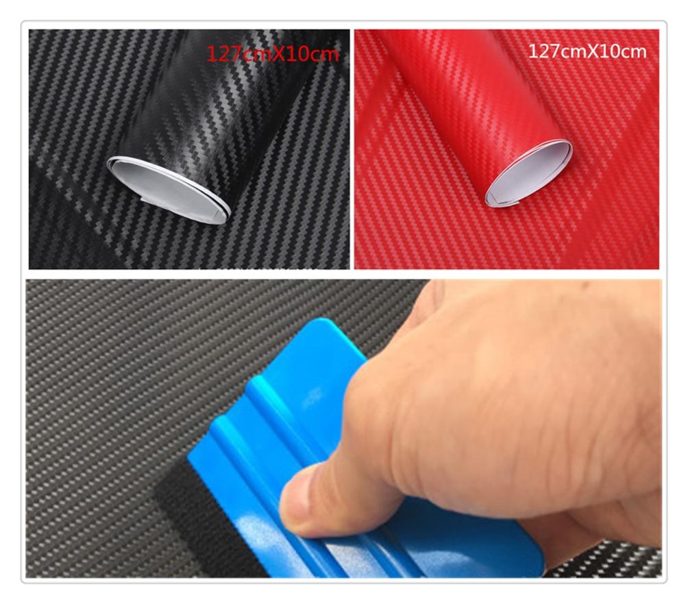 Coche de fibra de carbono pegatinas 3D estéreo de película en color graffiti para Ford loco Evos Stealth a iosis F-450 Verve