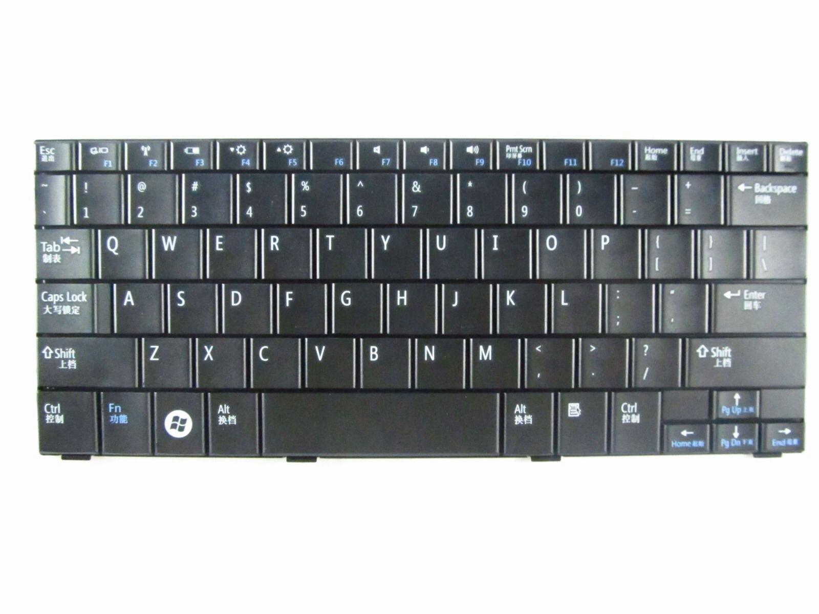 Nuevo OEM para DELL Mini 10/10v Inspiron 1011 1010 teclado de portátil disposición negra de EE. UU.