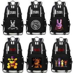 Рюкзак Five Nights At Freddy's, Chica Foxy Bonnie FNAF, дорожная сумка, компьютерная упаковка, 2019