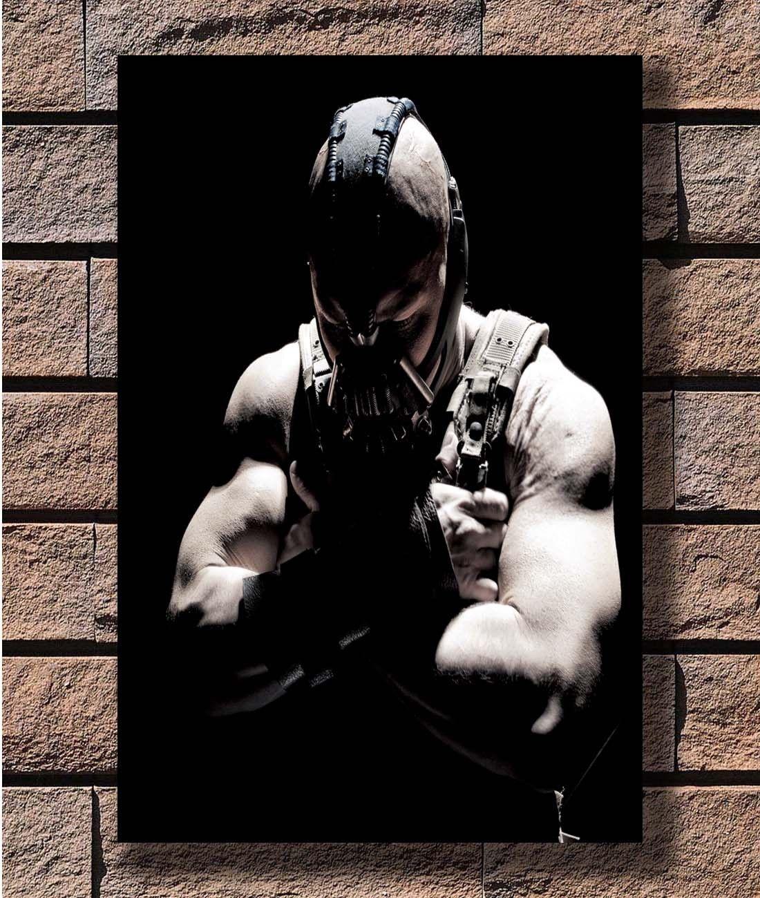 Q0685 Posters and Prints Bane Batman The Dark Knight Rises 8x12 20x30 24x36 Art Poster Canvas Painting Home Decor