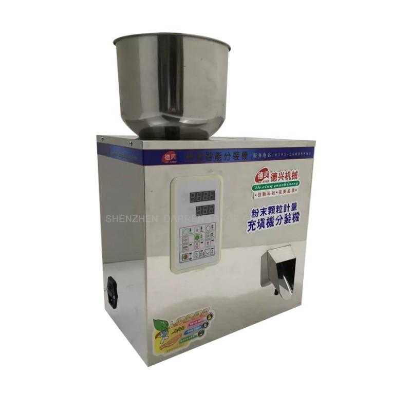 5-100g נירוסטה תה מכונת אריזת גרגיר כמישה אוטומטי מלח במשקל מכונה אבקת Seedfiller