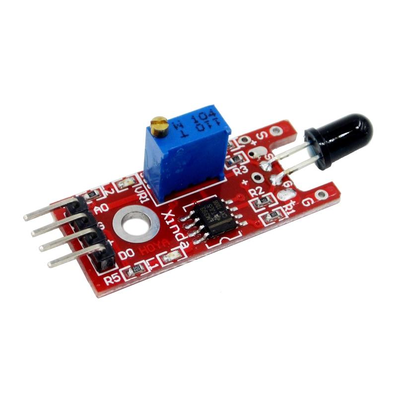 10PCs KY-026 Flame Sensor Module IR Sensor Detector For Temperature Detecting Suitable