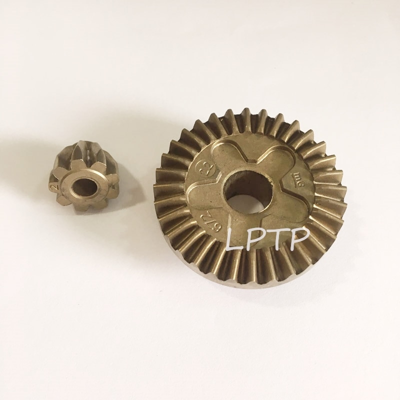 High quality straight tooth gear spur gear set replacment for bosch gws6-100 angle grinder gear set