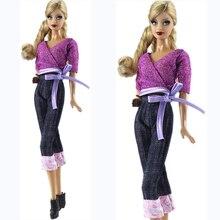 NK 2020 poupée mode robe vêtements tenues costumes décontractés jean pour Barbie poupée meilleur cadeau bébé jouet poupée accessoires enfant jouet