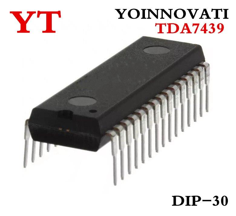 Envío Gratis 5 unids/lote TDA7439 7439, procesador de audio Digital control DIP30 mejor calidad