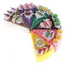 Langsam Steigenden Squishy Jumbo Duft Brot Spaß Kid Geschenk Spielzeug 7cm Kawaii Squishy Regenbogen Creme Kuchen