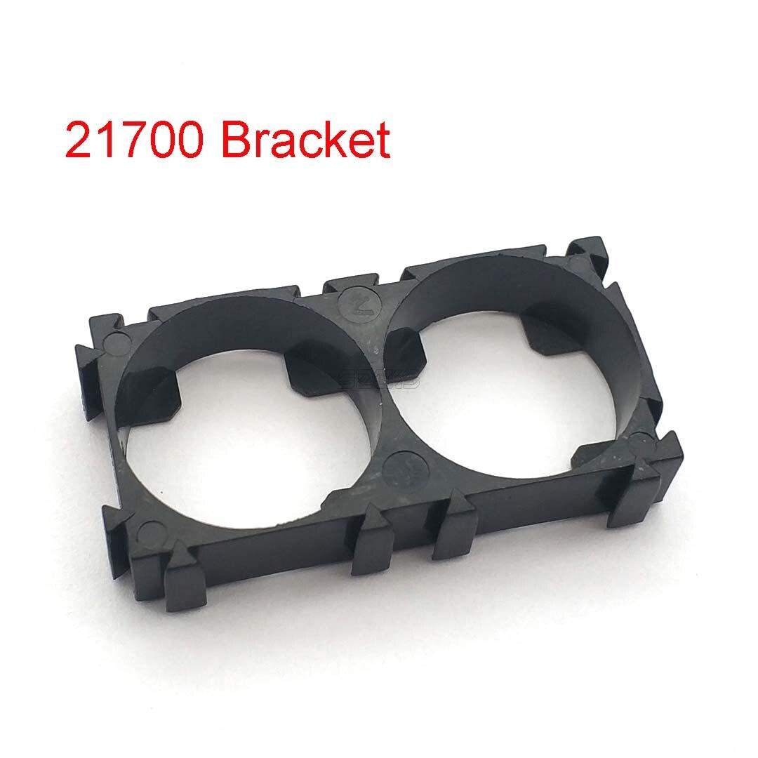 10 шт. 21700 2x держатель батареи кронштейн для сотового безопасности анти вибрации пластиковые скобы для 21700 батарей