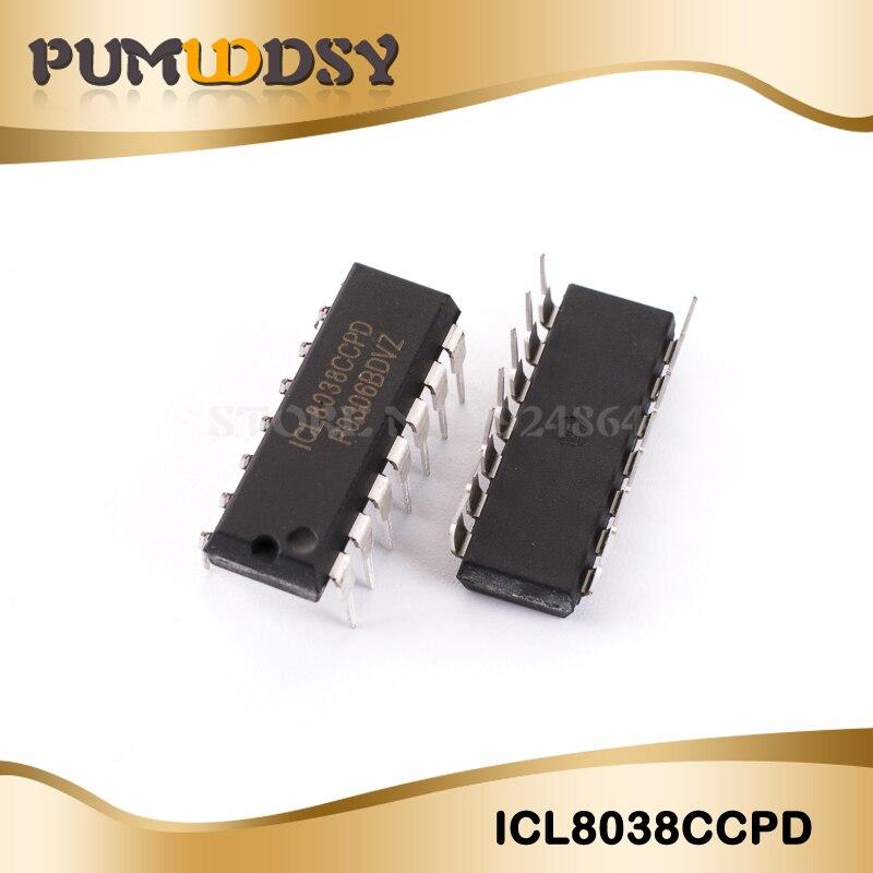 5 шт. ICL8038CCPD ICL8038 8038 DIP-14 IC прецизионный генератор сигналов/осциллятор с контролем напряжения новый и оригинальный IC