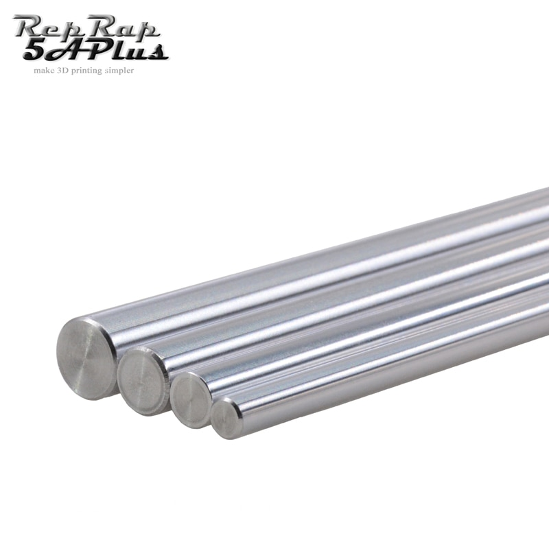 CNC Parts Liner Rail OD 6mm DIY Reprap Linear Shaft Smooth Rod 100mm 200mm 300mm 320mm 400mm 500mm for 3D Printer