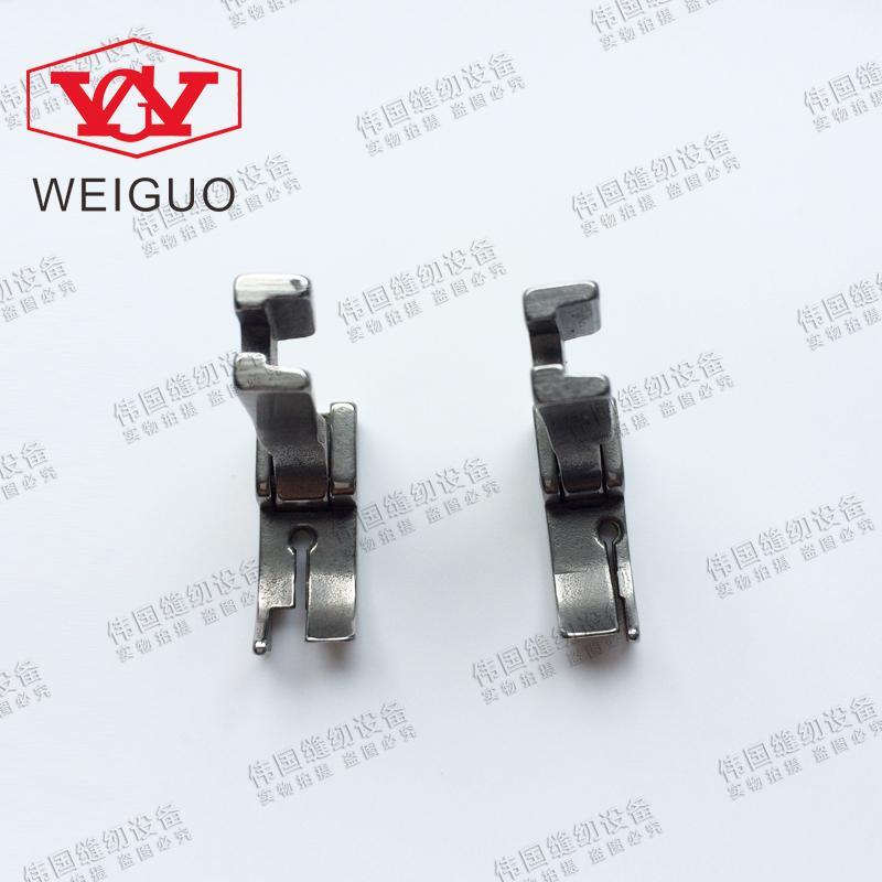 Швейная машина для застрочки стоп пресс лапка 12463HR HR рубашка и тонкий материал левая и правая сторона лапка P8115