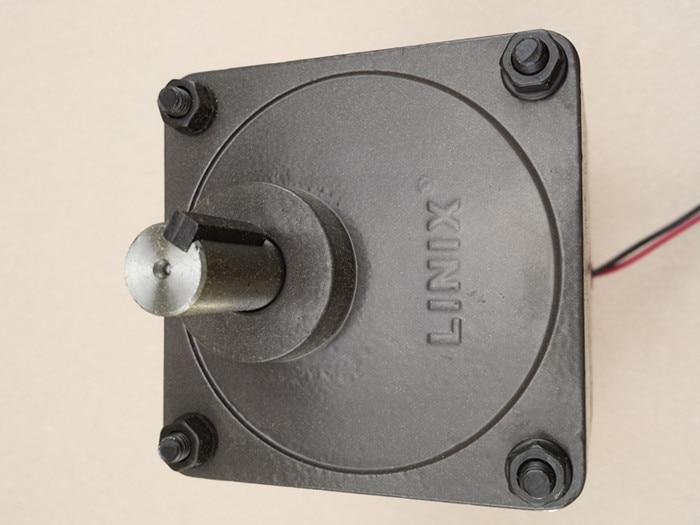 85ZY24-80-B/90JB120G1538-BM Linix Double output shaft motor Permanent magnet DC gear motor enlarge
